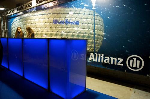 Allianz bache in trussconstructie