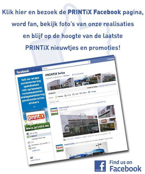 Bezoek onze Facebook pagina!