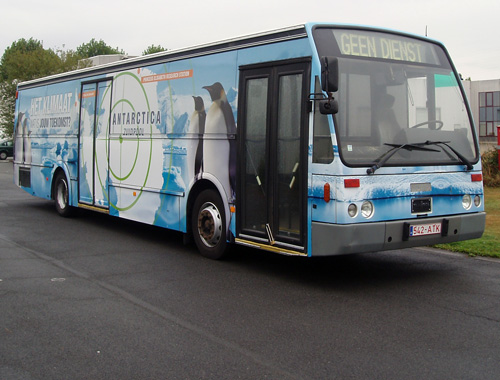Klimaatbus - full wrap
