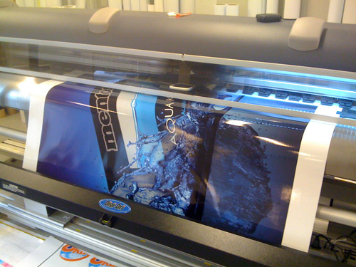 MENTOS wrap printing
